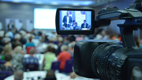 charity video production company to stream event to facebook live stream to youtube 360 videographer freelancer to hire tricaster uk
