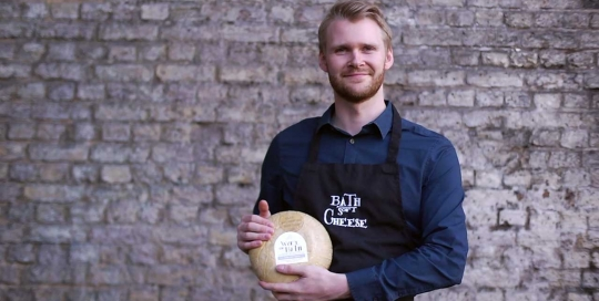 bath cheese company video filmed by Cambridge video agency WaveFX film production for website animation company London 3d video