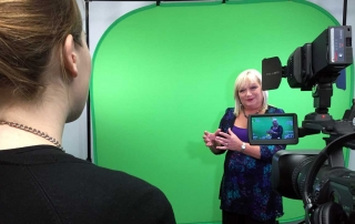 wavefx film interviews green screen studio hire London chroma key studio Cambridge video production company uk studio to hire film crew