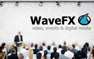 webcast event webcast company WaveFX based in UK streaming to USA webcast company freelance tricaster operator to stream to facebook