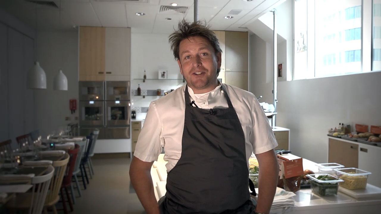 James Martin promotional video filmed by videographer Jamie huckle freelance camera operator London vision mixer to hire tricaster