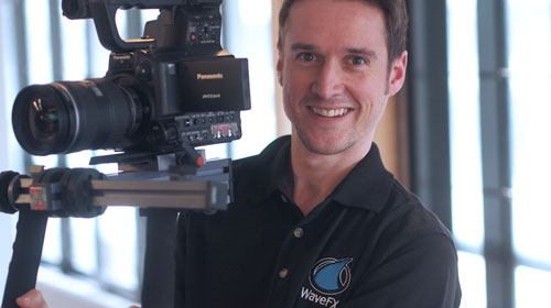 tv studio cambridge freelance videographer london