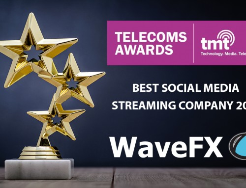 WaveFX wins Best Social Media Streaming Company 2017