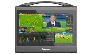 livestream HD550 livestreamhd550 vision mixer hire freelance tricaster op to webcast london
