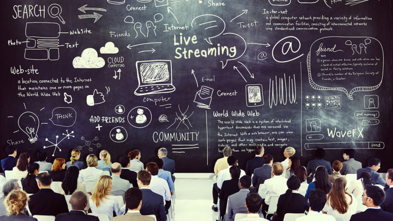 live streaming 2017 webcast statistics online video 2018 stats
