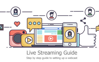 setup a webcast live streaming guide to webcast event guide to stream facebook live to youtube 360