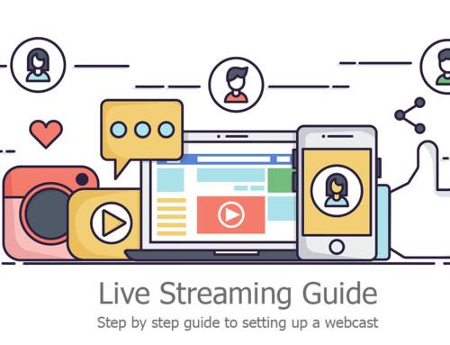 How to setup a webcast on social media