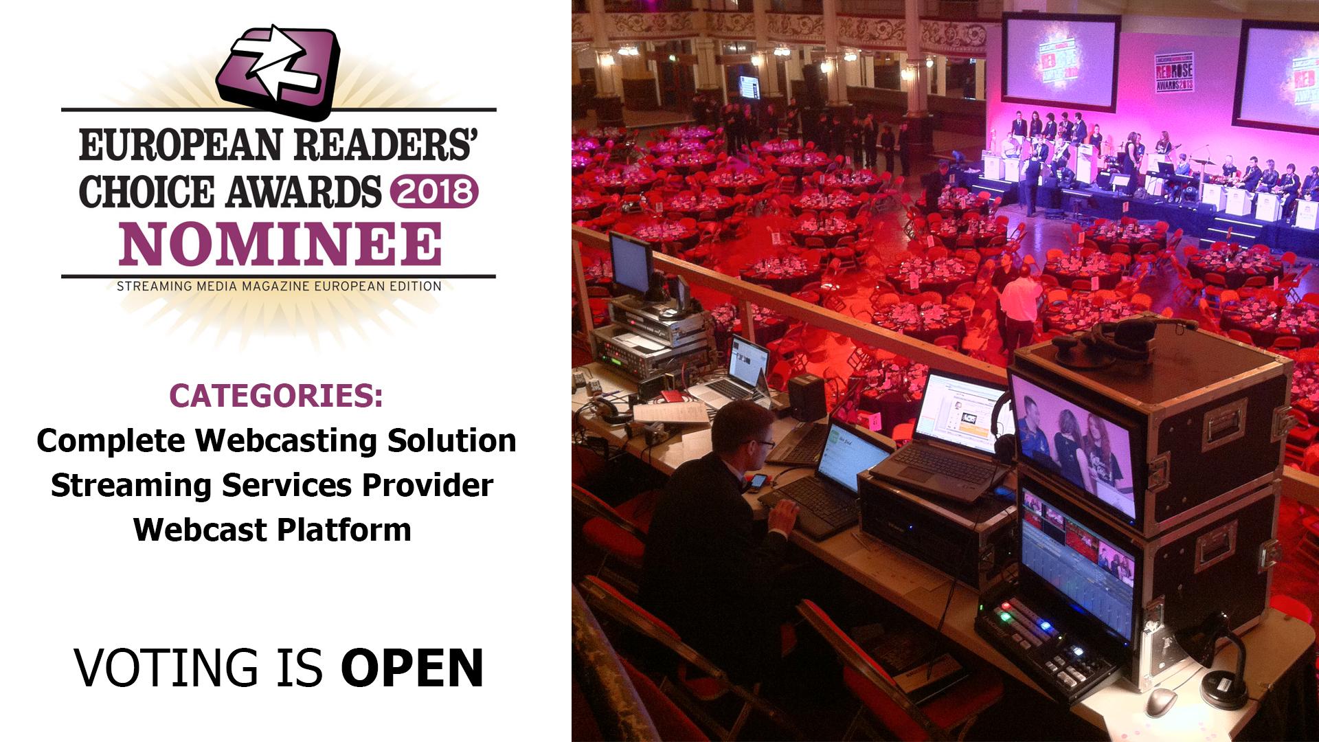 streaming awards winner wavefx live streaming company webcasting production uk stream