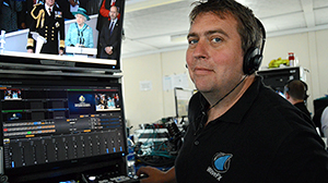 event filming vision mixer hire tricaster operator vision mix event film production company