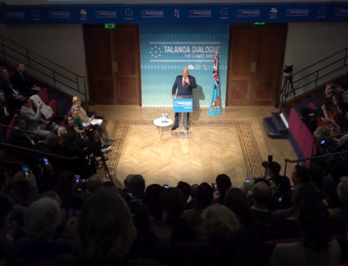 Fiji Prime Minister Webcasting Live from the Royal Institution